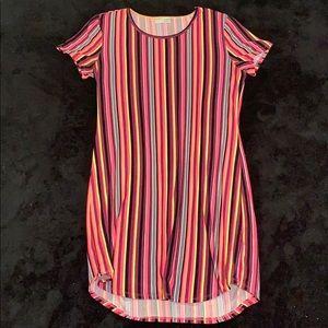 Neon t-shirt dress